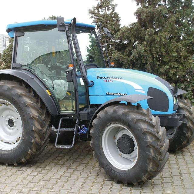 Fiche Technique Tracteur LANDINI Powerfarm 100 De 2013