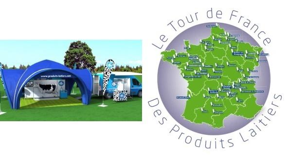Tour de France des produits laitiers