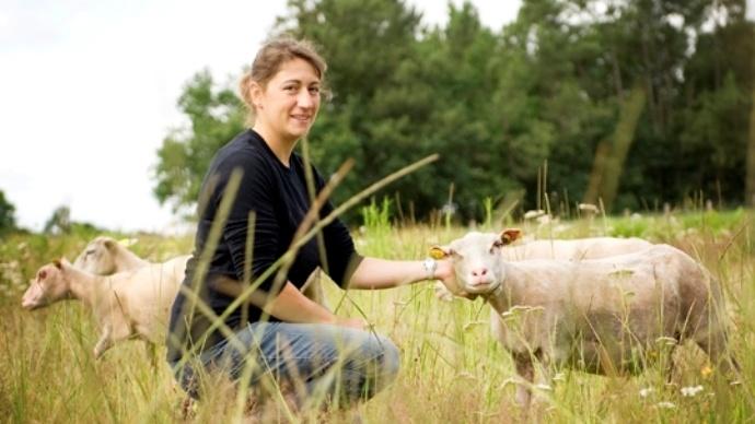 Image de l'agriculture - Florence Gandr� : � Terres de Jim, le salon de l'agriculture en plein air �