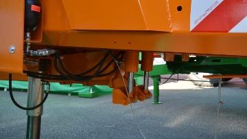 Une suspension pneumatique pour plus de confort