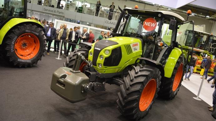 claas atos 200 claas atos 300   tracteurs claas produits par same deutz