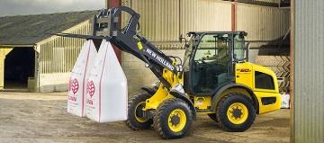 New Holland adapte ses produits du Btp à l'agriculture