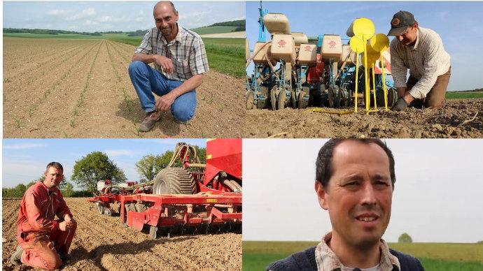 «50% du résultat se joue au semis»: quatre agriculteurstémoignent