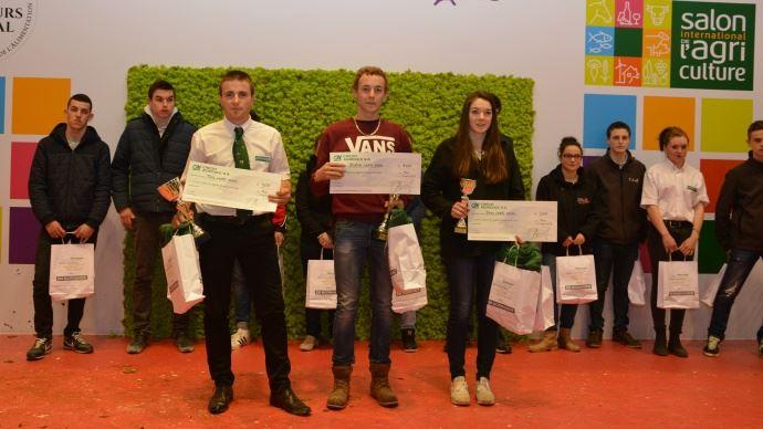 Palmar s du concours normand paris au salon de l 39 agriculture 2016 - Palmares salon de l agriculture ...