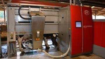 4800 exploitations laitières équipées de robots de traite