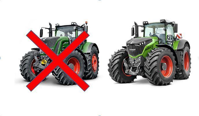 Résultat d'images pour nouvelle couleur tracteur fendt