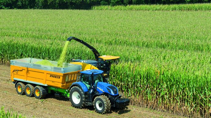 Ensileuse New Holland - Nir on Board analyse la valeur nutritionnelle des ensilages