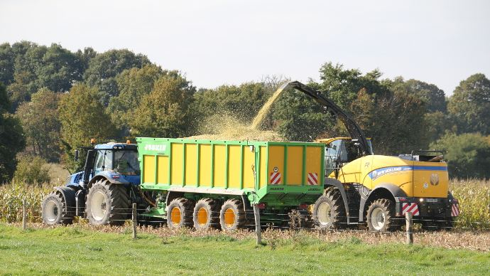 Ensileuse New Holland - Nir on Board : la valeur alimentaire des fourrages en direct