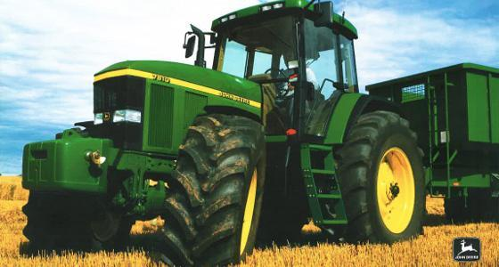 la cote agricole d 39 occasion des tracteurs john deere 7810. Black Bedroom Furniture Sets. Home Design Ideas