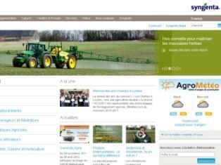 Un espace pro à personnaliser permet au visiteur de s'approprier le site et les services disponibles comme Agro-visioFlore et AgroMétéo.