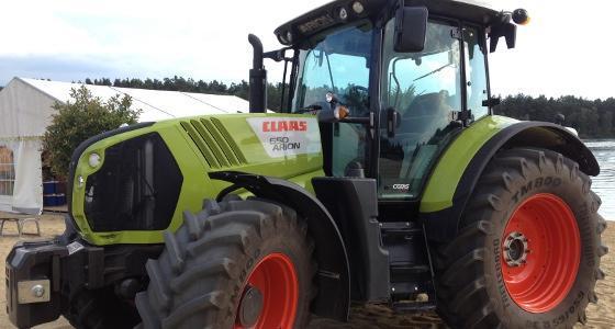 Prix d'un tracteur claas neuf