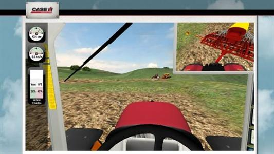 Vu sur le Web / Case IH - Etes-vous plus efficace qu'un tracteur avec l'autoguidage ?