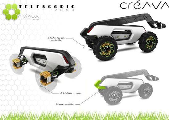 Télescopic 2050 de Créava Design