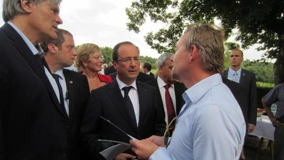 François Hollande, Stéphane Le Foll, Méthanisation