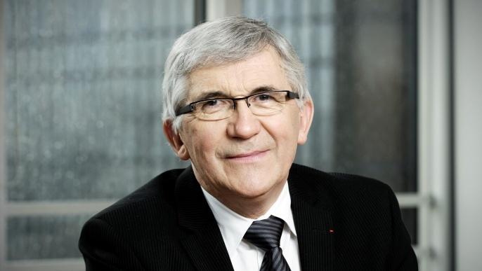 Gérard Pelhate, président de la Ccmsa.