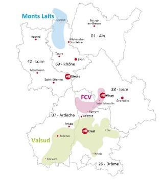Eurial et l'Union Valcrest en Rh�ne-Alpes envisagent un rapprochement