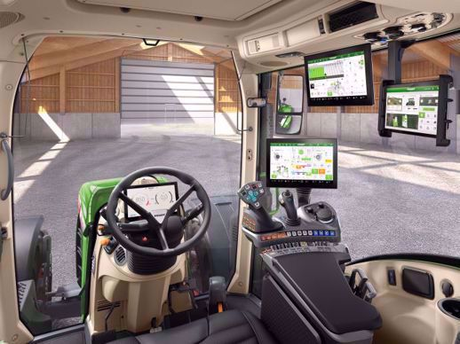 La gamme 700 Vario et le 314 Vario bénéficient de la nouvelle cabine Fendt 2.0.