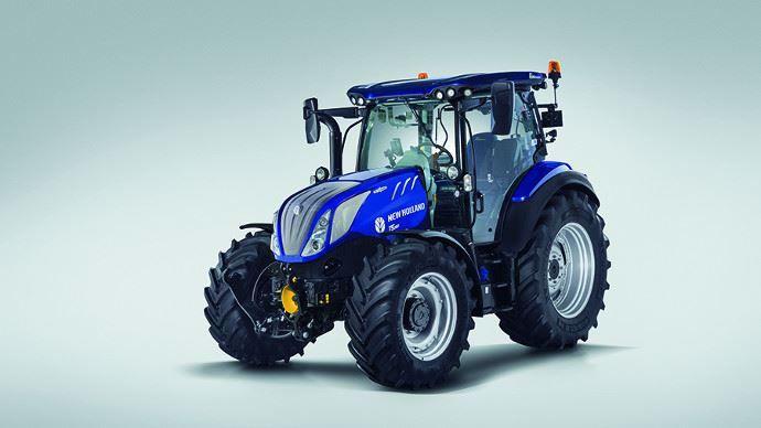 New Holland étoffe sa gamme de tracteurs moyenne puissance adaptés aux besoins de l'élevage grâce au T5 AutoCommand.