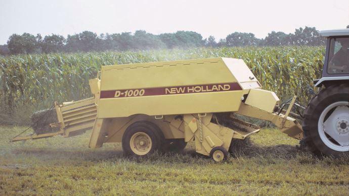 Presse BigBaler lors du lancement en 1987