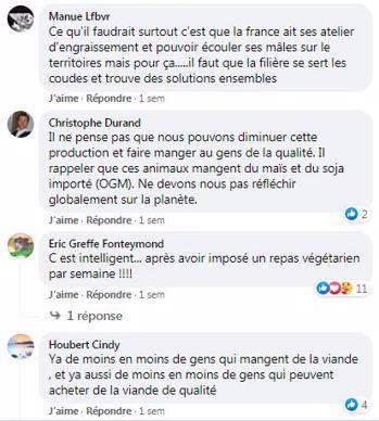 posts facebook web agri du jeune bovin dans les cantines scolaires