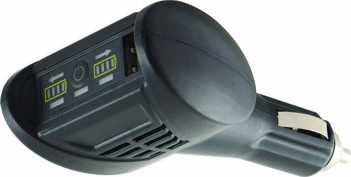 L'indicateur de charge, à brancher en cabine, donne une indication en continu au chauffeur.