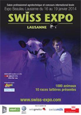Couverture catalogue Swiss'expo 2014