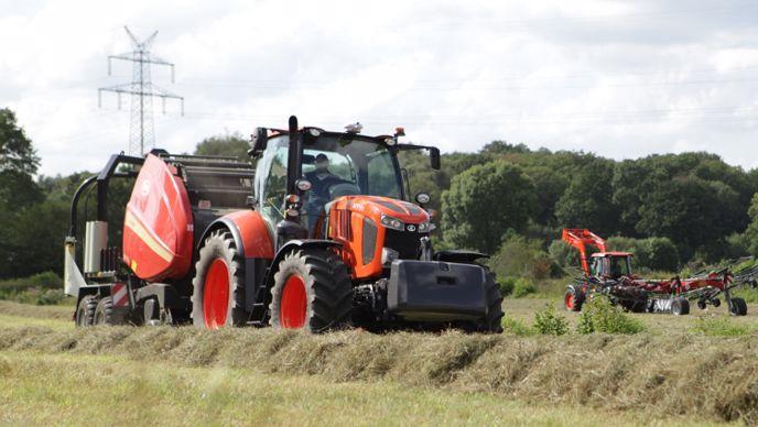 Le machinisme agricole pour grandes cultures reste au coeur de la stratégie de développement de Kubota.