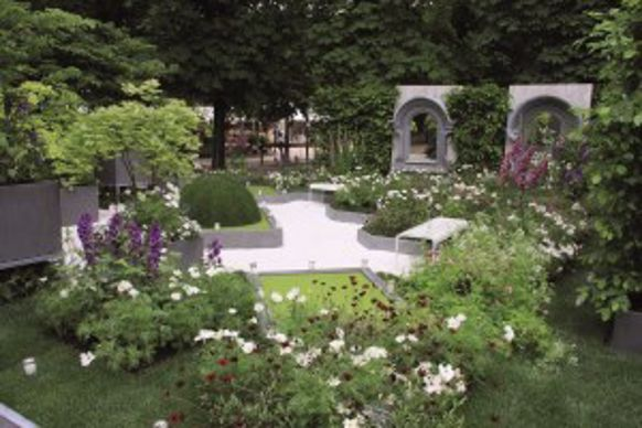 La création des Jardins de Gally