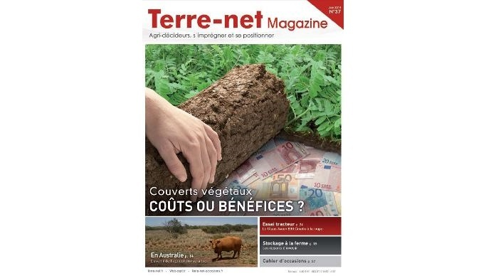 Couverture Terre-net Magazine 37