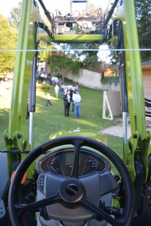 toit panoramic Claas Arion 400