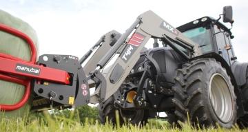 Un modèle de la série T400 pour tracteurs 4 cylindres de grosse puissance