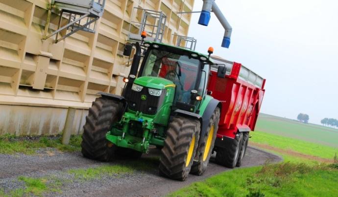 La qualité du blé est homogène et aucun incident n'est signalé.