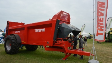 Thievin s'attaque au marché des épandeurs à caisse étroite