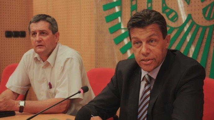 Xavier Beulin et Dominique Barrau