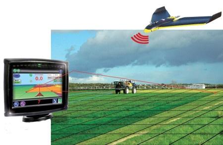 modulation de dose par drone chez Caruelle