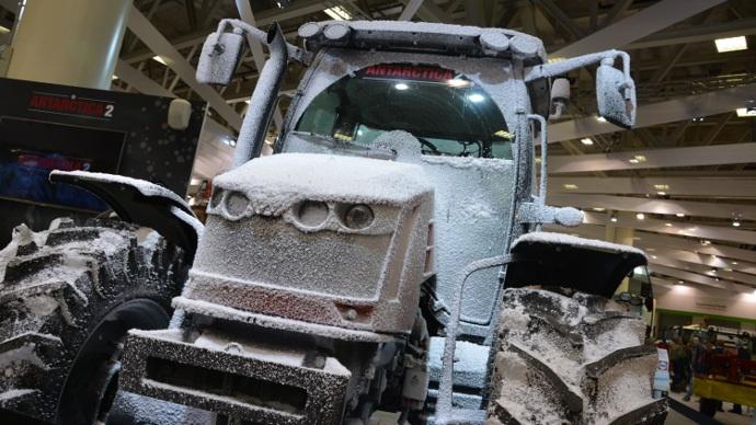 tracteur Massey Ferguson projet Antarctica 2