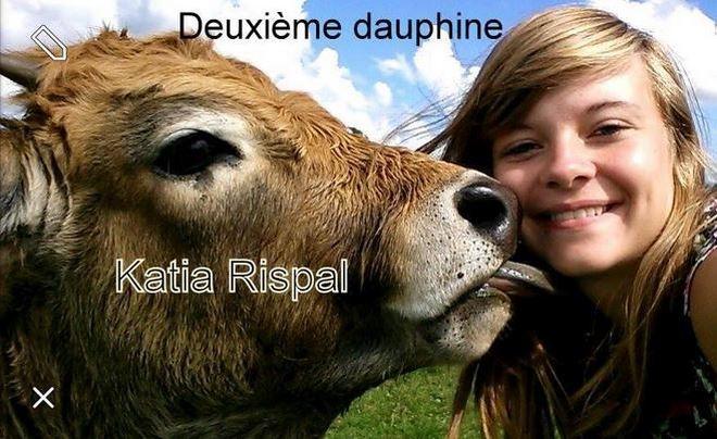 Katia Rispal, élue deuxième dauphine miss France agricole 2015