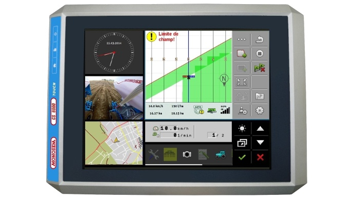 terminal Monosem CS8000 Touch