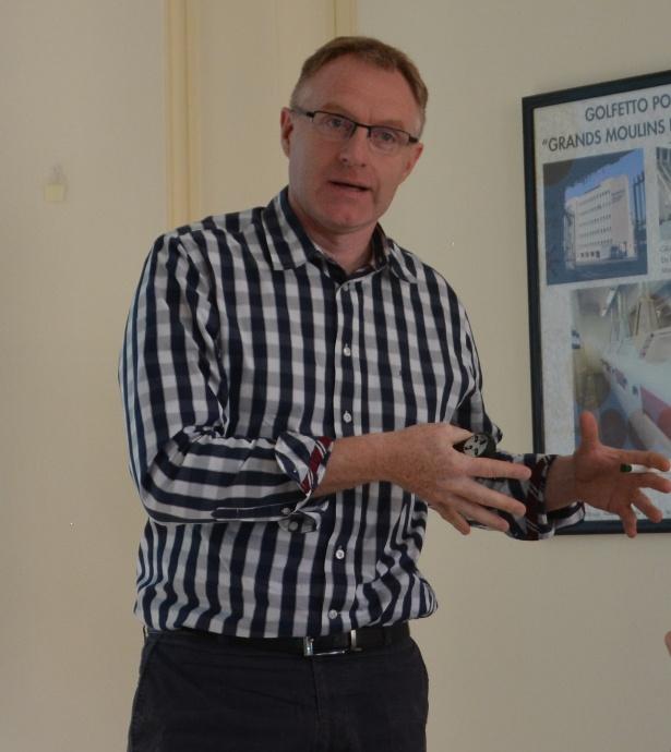 Cyril Gouache, directeur logistique chez Axéréal