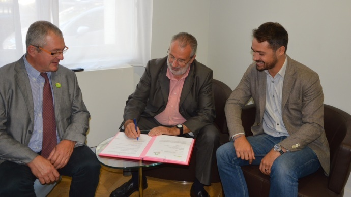 Signature d'un partenariat entre Miimosa et Bienvenue à la Ferme