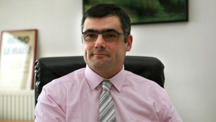 Daniel Peyraube, président del'Agpm
