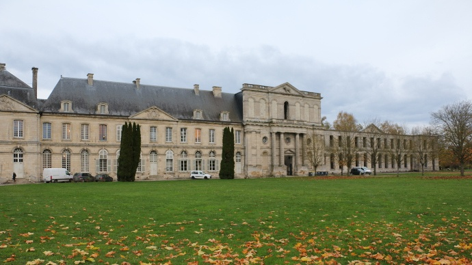 L'abbaye d'Ourscamp dansl'Oise.