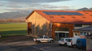 Le Gaec de Wittelsheim produit et consomme sa propre électricité photovoltaïque