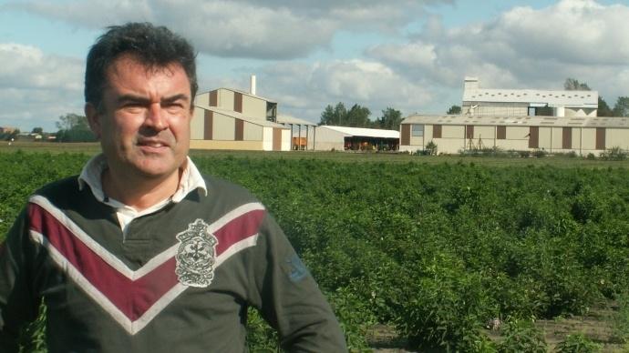Nicolas Jaquet, président de l'OPG.