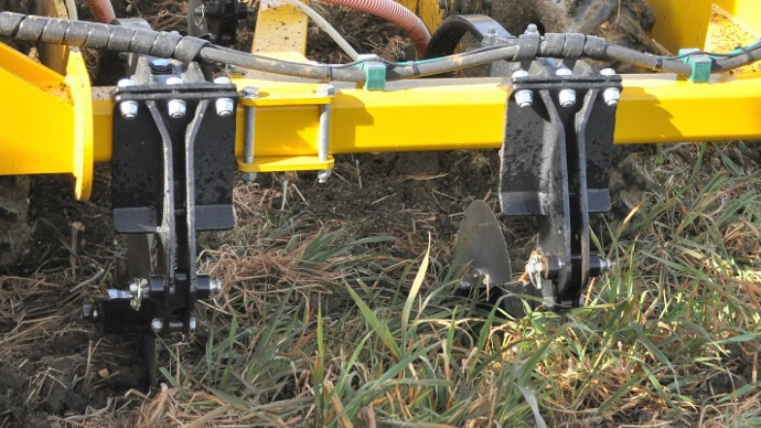 Claydon offre de nouvelles options pour adapter le strip till à tous les terrains.