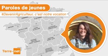 #DevenirAgriculteur, «j'encourage les jeunes à voyager à l'étranger»