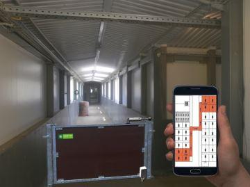 Un aiguillage automatique pour faciliter le déplacement des animaux chez Asserva
