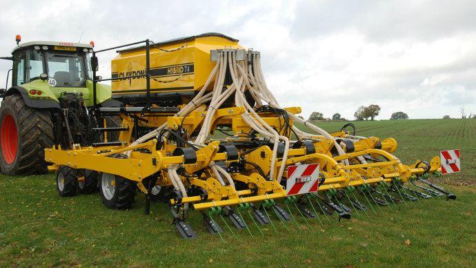 Le Semoir Hybrid T4 que nous avions découvert en janvier dernier sera mis en démonstration à Innov-agri
