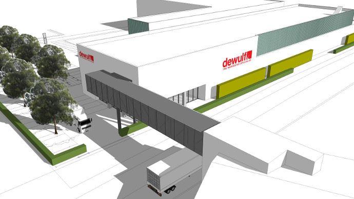 Le nouveau centre logistique Dewulf