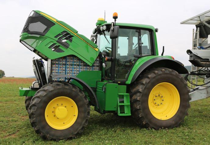 Tracteur Sesam de John Deere